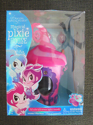 Of Dragons, Fairies & Wizards Pixie House Playset -  Pink/Purple NEW