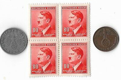 Orig Rare Old German WWII WW2 Germany Coin Stamp Great War Collection Europe Lot