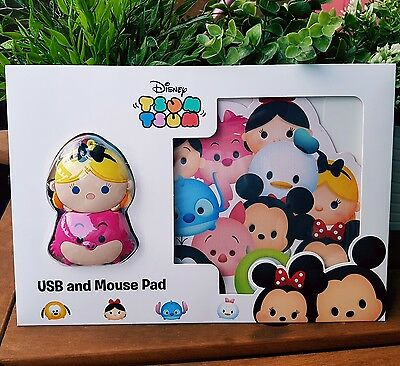 Disney Tsum Tsum USB Mouse And Mouse Mat. NEW Disney Licenced Product