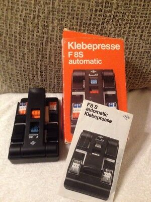 F8 S Automatic Klebepresse Super 8 Film Splicer Boxed