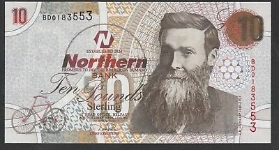 10 Pounds From Ireland 2004 Unc