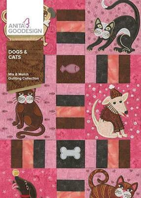 Dogs & Cats     Anita Goodesign Machine Embroidery     NEW