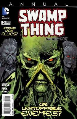 Swamp Thing (2011 series) Annual #2 in Near Mint minus condition. DC comics