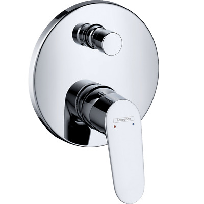 Hansgrohe Focus Bathtub Fitting up Mixer Tap Ready-To-Use Set Chrome 31945000