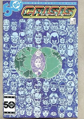 Crisis On Infinite Earths #5-1985 vf+ 1st app the Anti-Monitor George Perez