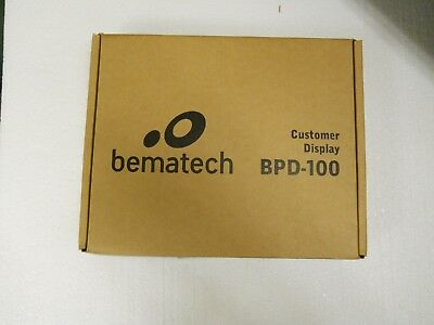 Bematech Bpd-100 Pole Display New In Box All Included