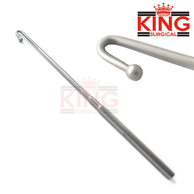Spay Snook Hook For Ovaries Removal Veterinary Surgical Instruments 1 Pcs