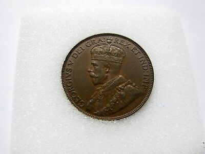 1929 Newfoundland One Cent - HIGH GRADE