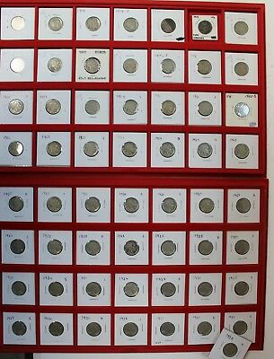 Near Complete Buffalo Nickel Collection 1913-1938