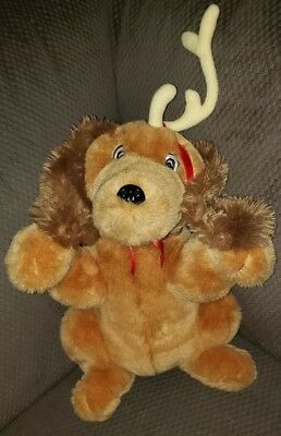The Grinch Who Stole Christmas Dog.How The Grinch Stole Christmas Max Plush Dog Barking Musical Moves Ears 16