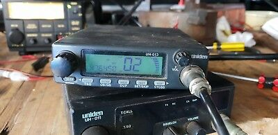Used uniden uh-013 40 Channel uhf cb radio missing microphone