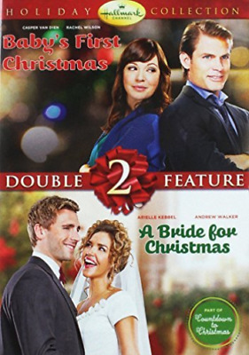 Children/family-Hallmark Double Feature #2-Babys First Christmas/bride F Dvd New