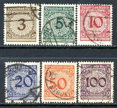 Germany Postage Stamps Scott 323-328, Used Complete Set!! G946f