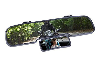Genius Ideas Double Wide-Angle Rear View Mirror