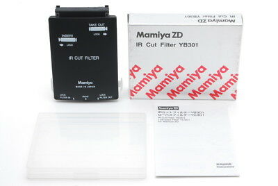 【TOP MINT in BOX】 Mamiya ZD IR Cut Filter YB301 for Mamiya ZD from JAPAN #160