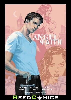 ANGEL AND FAITH SEASON 9 VOLUME 1 LIBRARY EDITION HARDCOVER (288 Pages) Hardback