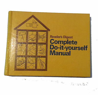 Readers Digest Complete Do-It-Yourself Manual Hardcover Book