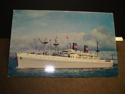 Ship SS PRESIDENT WILSON, AMERICAN PRESIDENT Lines Naval Cover unused postcard