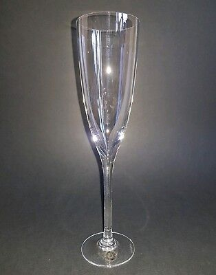 Dartington Lead Crystal Rachael Suite Champagne Flute Glass with Label  :S
