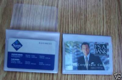 2 Clear 12 Page Wallet Inserts for Photos&Cards NEW! Made in the USA Free S & H!