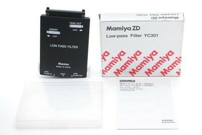 【TOP MINT in BOX】 Mamiya ZD Low pass Lowpass Filter YC301 for Mamiya ZD JAPAN
