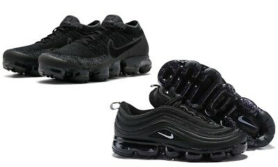best service 72b31 5a9a6 NIKE | AIR Max 97 |Vapor Max |Black Trainers |Size UK 6-7-8 ...