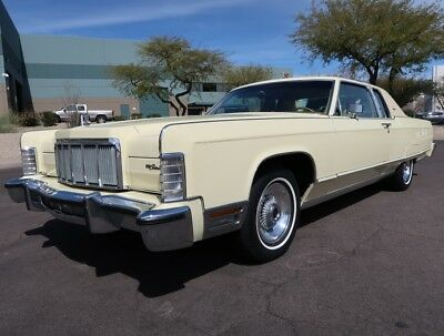 1976 Lincoln Town Car Town Coupe Only 14,607 Original Miles Rare 2-Owner Original Car 1977 1978 1975 continental