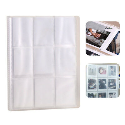 1pc Clear Mini Photo Album 288 Pockets Movie Tickets Holder for Fujifilm Instax