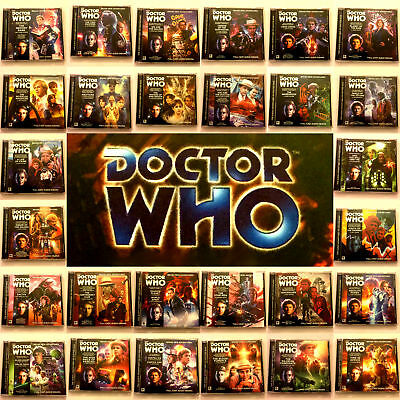 Doctor Who Big Finish CD Audio Books Main Range 201 – 230 Choice Of Releases