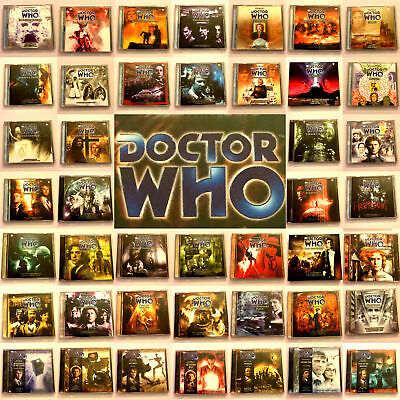 Doctor Who Big Finish CD Audio Books Main Range 51 – 100 Full Choice Of Releases