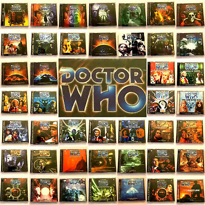 Doctor Who Big Finish CD Audio Books Main Range 1 – 50 Full Choice Of Releases