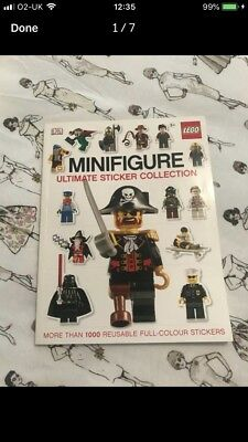 Lego Minifigures Ultimate Sticker Collection Book
