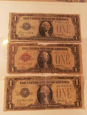 1928 United States $1 Note W 1928 A & B Silver Certificates Far Below Wholesale!