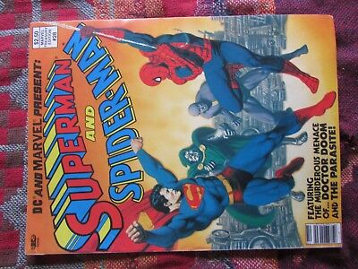 1 owner DC And Marvel Present: Superman And Spiderman Treasury Edition # 28 Hulk