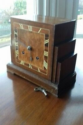 Vintage Art Deco 'Skyscraper'  Mantle Clock