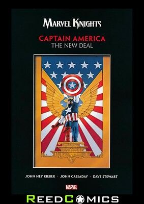 Marvel Knights Captain America By Rieber And Cassaday New Deal Graphic Novel