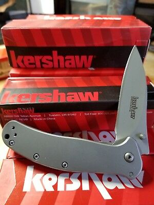 **NEW**Kershaw Zing 1730SS folding pocket knife frame lock assisted opener