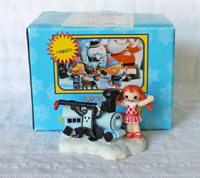 Enesco Rudolph Island of Misfit Toys Christmas Day Figurine 725080 ~ Doll Train