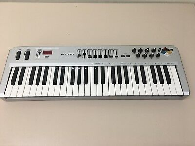 M-Audio Radium 49 Key USB Midi Keyboard Controller (in OVP) Works With MAC 10.14