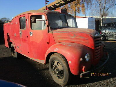 "1956 Fordson Thames 500E ""Firefly"" Foam Tender Fire Engine (Dry Stored 35 Years)"