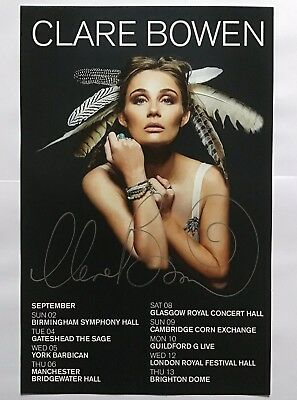 Clare Bowen Poster