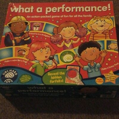 Orchard games What a performance