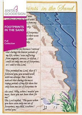 Footprints in the Sand             NEW          Anita Goodesign