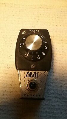 ROWE Ami JukeBox Remote Volume Control For 45 rpm records or CD Juke Boxes NOS