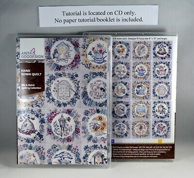 Hand Sown Quilt       Quilting Collection          Anita Goodesign       NEW