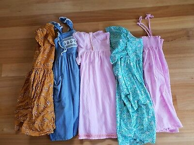 Size 8 Girls clothes Bulk Pack Summer Dresses