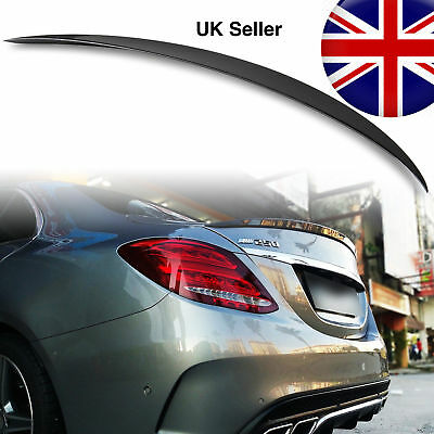Mercedes C Class W205 4D ABS Boot Spoiler AMG STYLE OME FIT Unpainted 13-2019