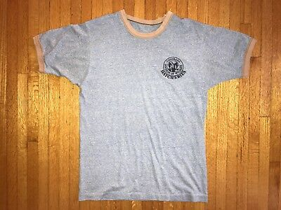 70s VTG COLORADO DIVISION OF WILDLIFE HATCHERIES T-SHIRT M FISHING 80s YOSEMITE