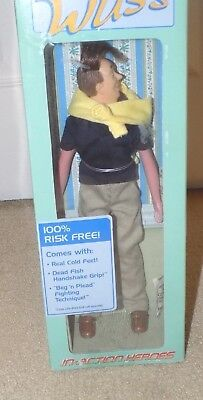 "The Wuss 12"" In-Action Heroes Figure Doll 2005 Degree Commercials (New in Box)"
