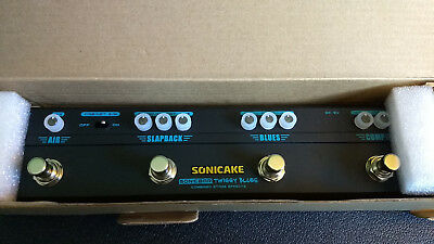 *Open Box* Sonicake Multi Guitar Effect Pedal Strip Sonicbar Twiggy Blues